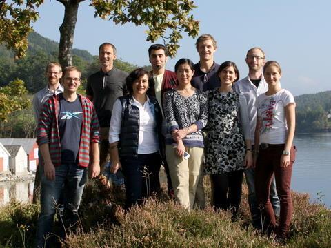 Gruppebilde biorecognition group