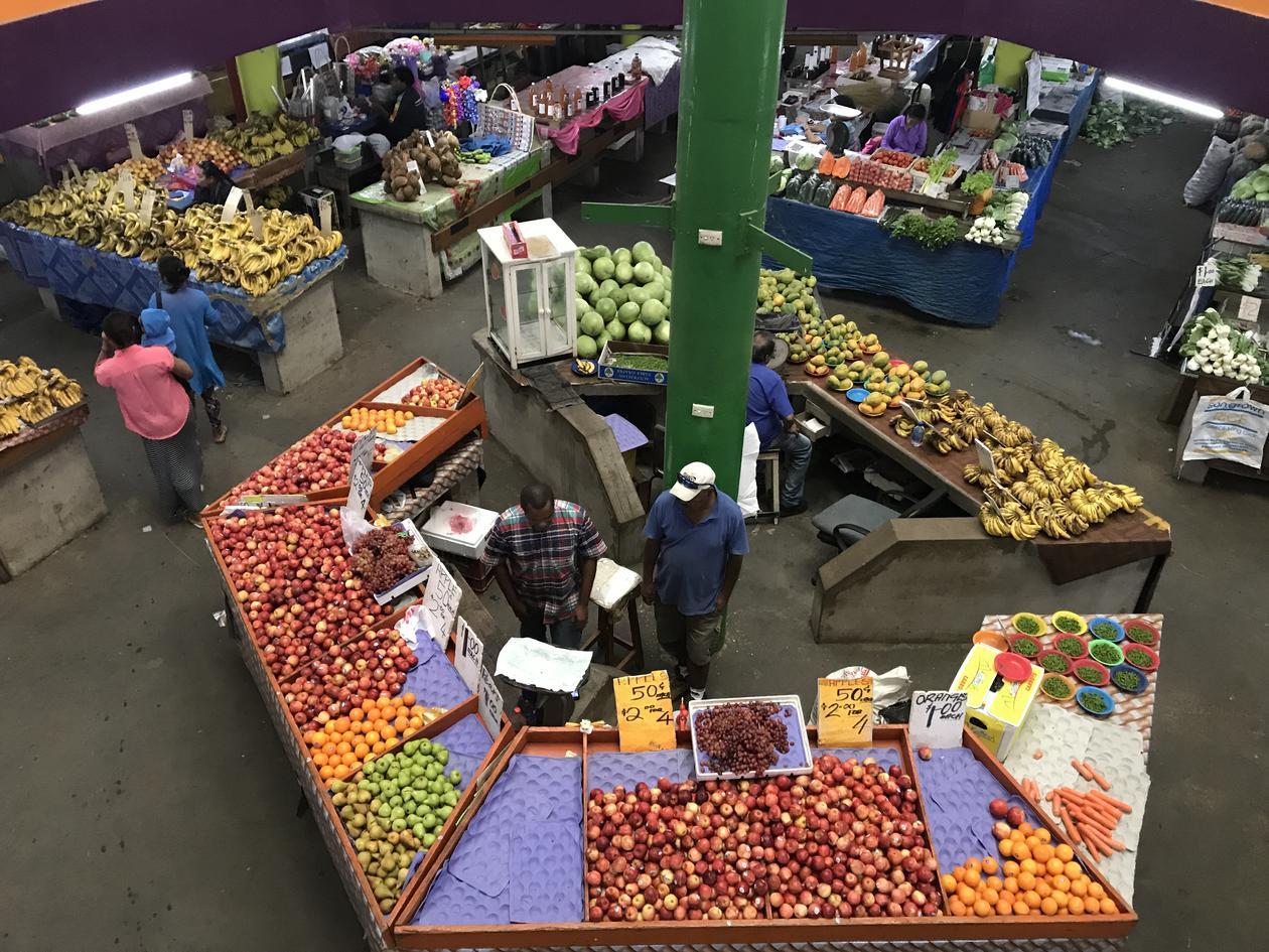 Grønnsaksmarked i Suva, Fiji