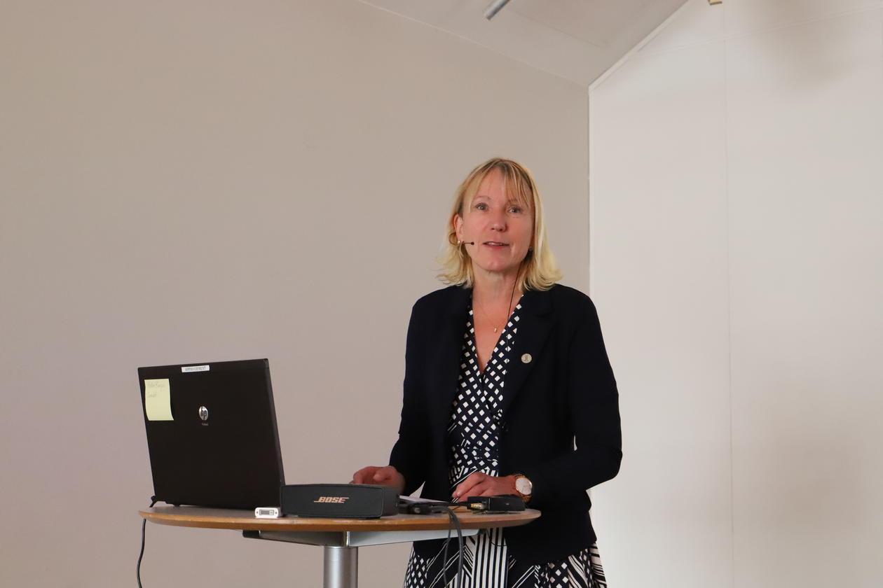 Prorektor Margareth Hagen CISMAC seminar