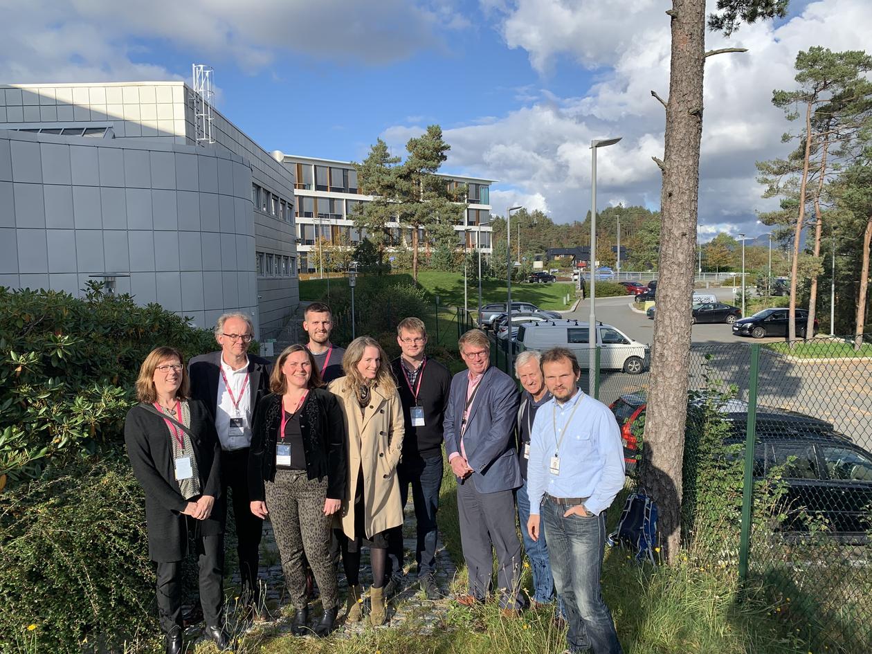 Forskere i gruppen som skal samarbeide om prosjektet SiGS