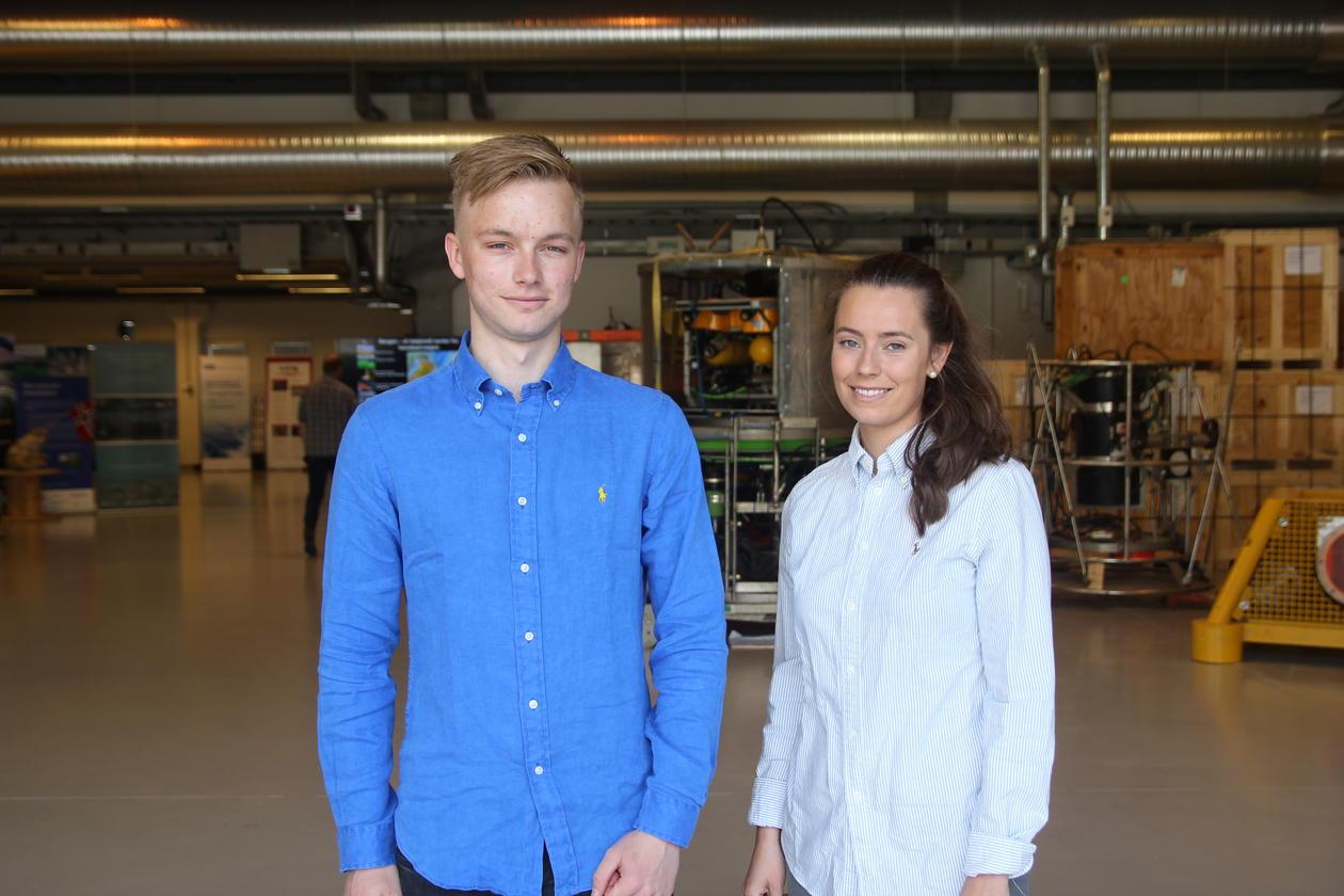 Lars Thomas Unneland Larsen og Karianne Kamlund