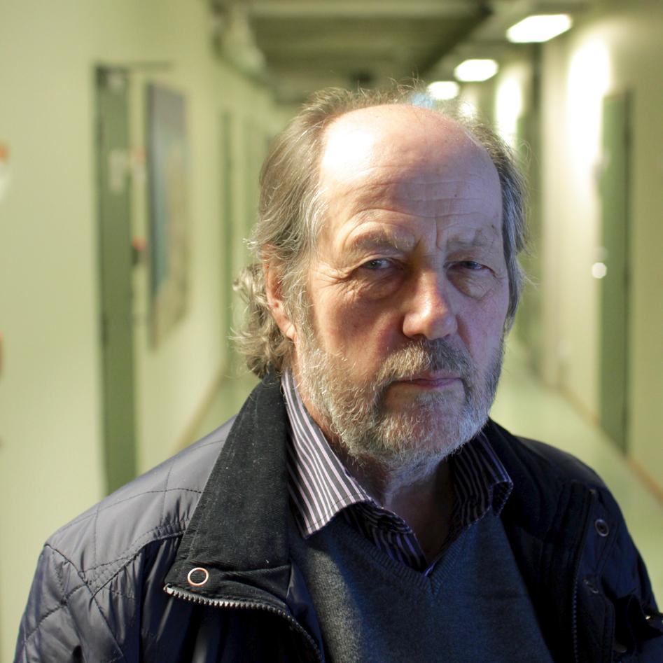 Harald Furnes, Professor Emeritus at the Department of Earth Science