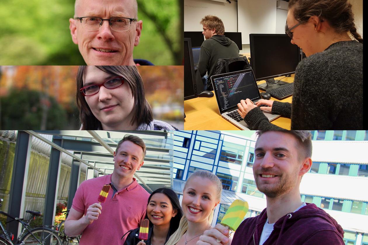 Collage fra Institutt for informatikk