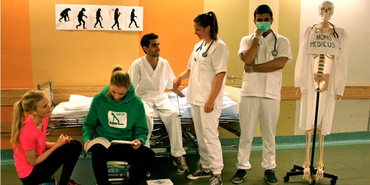 Utdanningsstigen  - legestudiet