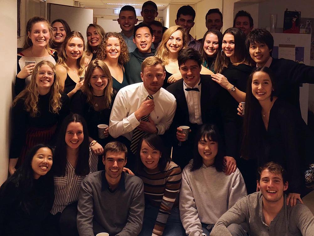 Internasjonale studenter i Lund