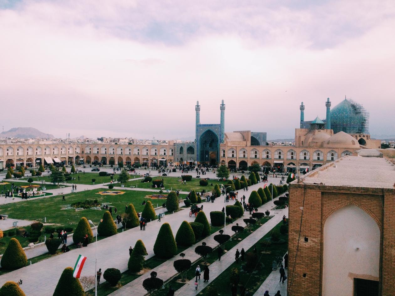 Kjersti Simonsen i Teheran