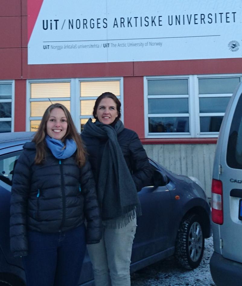 Irene Aasmul og Christine Gulla
