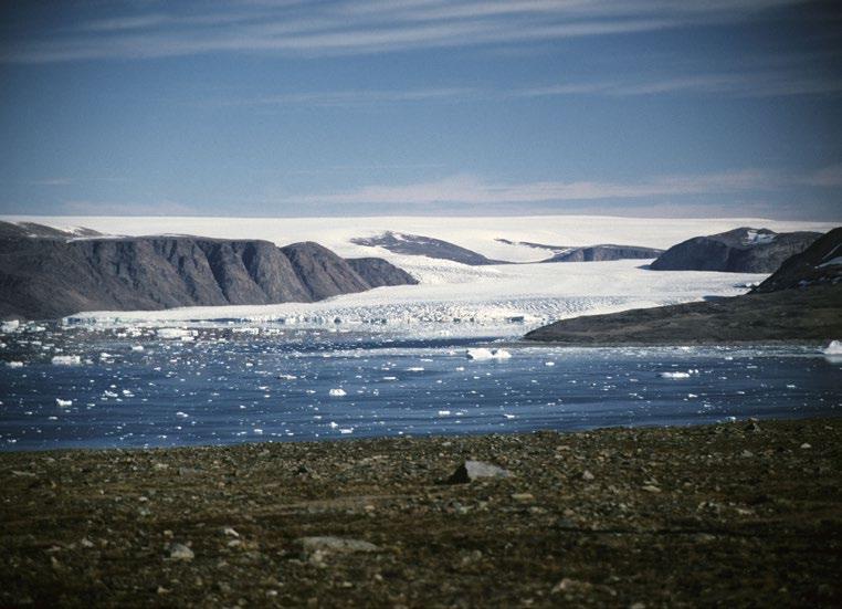 Geologi i Fana: Is fra Grønland til Fana