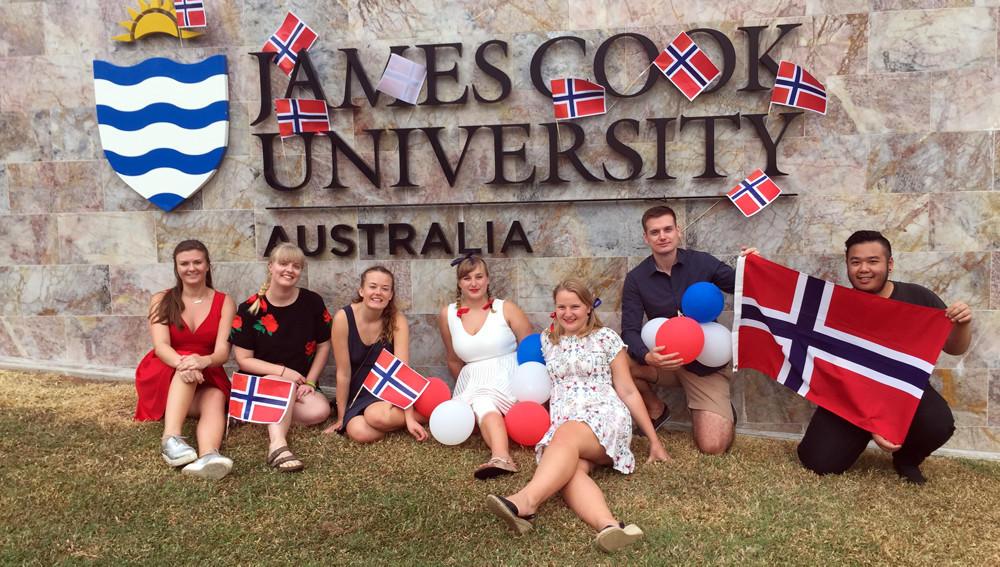 Norske studenter ved James Cook University, Australia