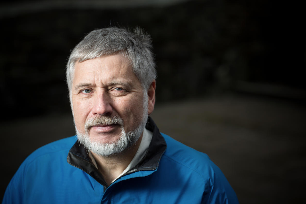 Professor Eystein Jansen, Department of Earth Science, University of Bergen. He was also director of the Bjerknes Centre for Climate Research until 1 January 2014.