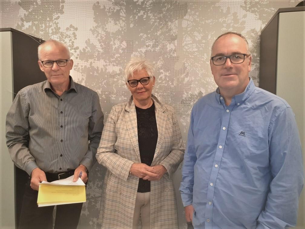 Jarle Eid, May Hauken og Arne Magnus Morken