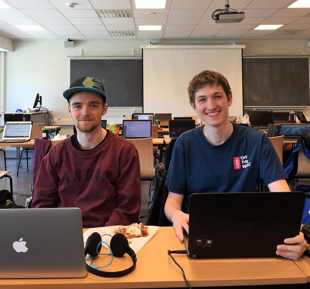 Studenter med PC