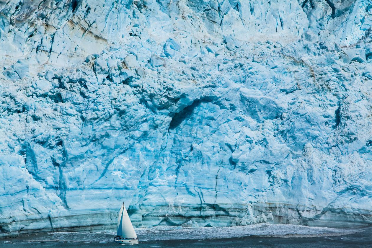 Glacier, Hubbard Glacier Geological Area