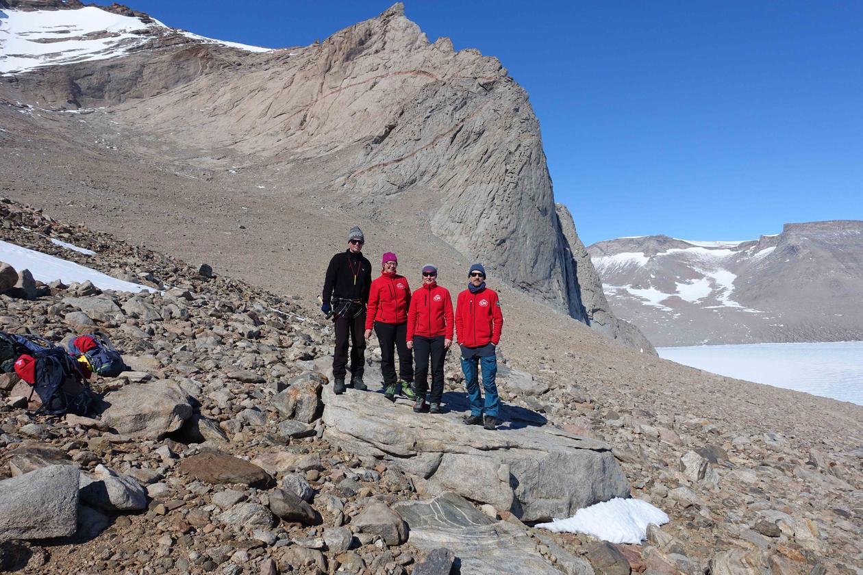 Bilder fra naturen i Antarktis