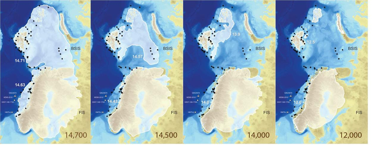 EIS ice sheet extent