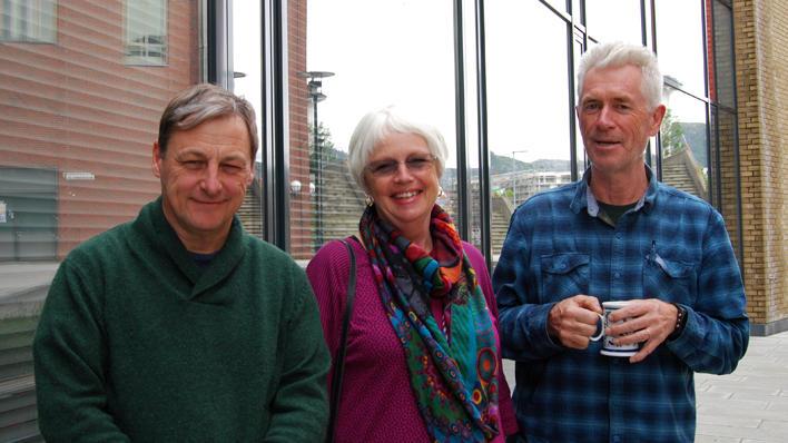 Professors John Higgins, Gro Lie, and Tor Halvorsen