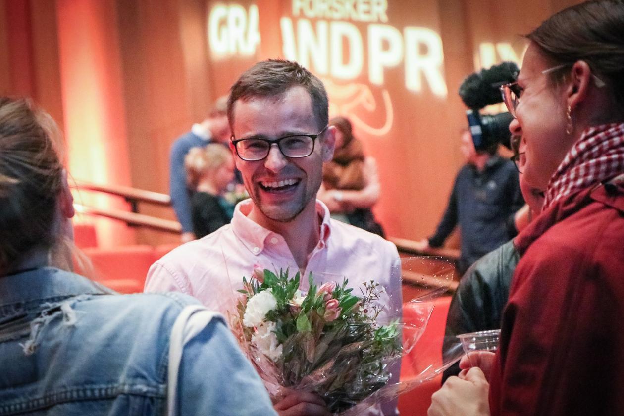 John Magnus Dahl på Forsker Grand Prix 2019 Bergen