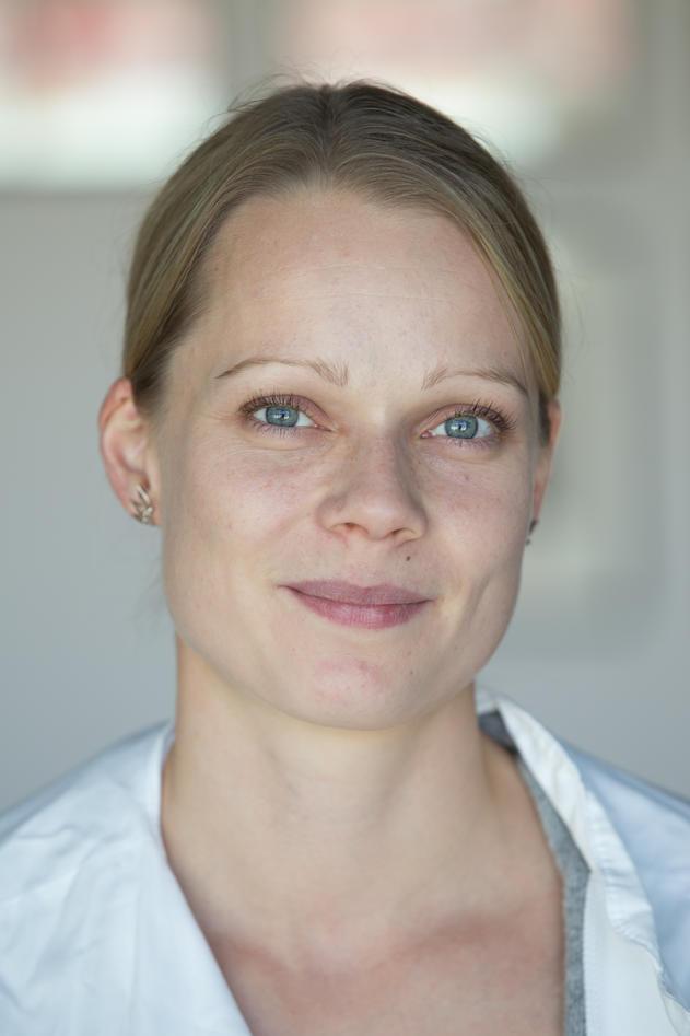 Portrait of Tiina Jokela.