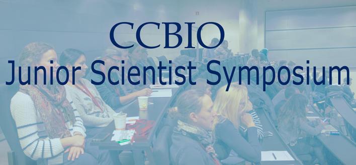 CCBIO Junior Scientist Symposium logo