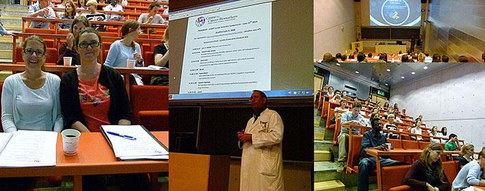 The first CCBIO Junior Scientist Symposium 11.06.14. Collage.