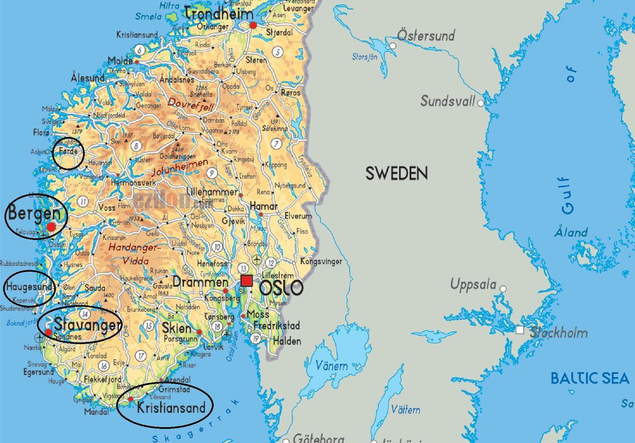 norge kart bergen Mange fagområder | Universitetet i Bergen norge kart bergen