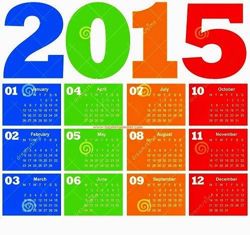 2015 kalenderikon
