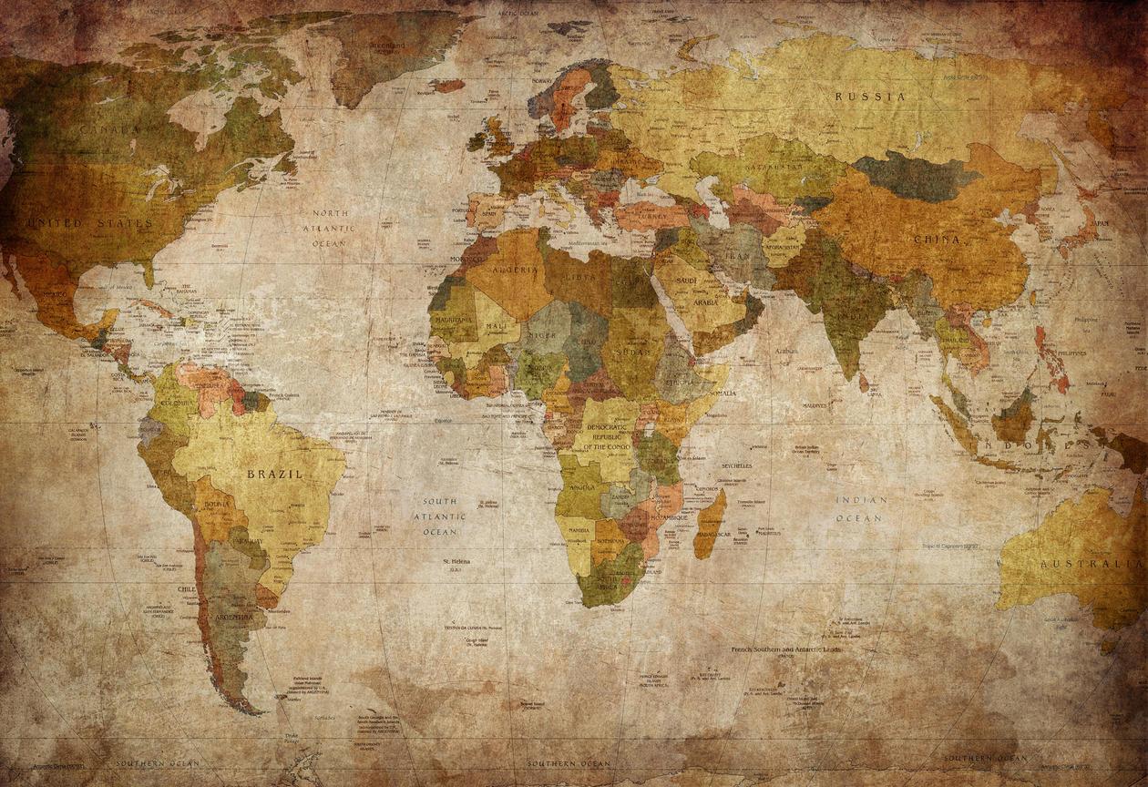 Bilde av at verdenskart