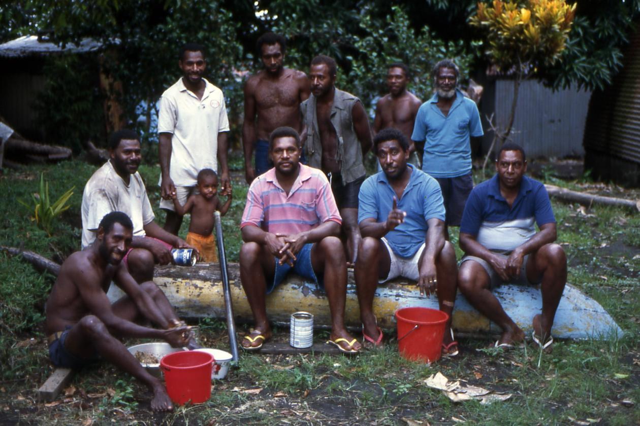 Kava forberedelse på Vanuatu