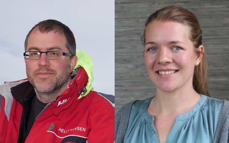 Kerim Hestnes Nisancioglu og Anne-Katrine Faber - IceFinse