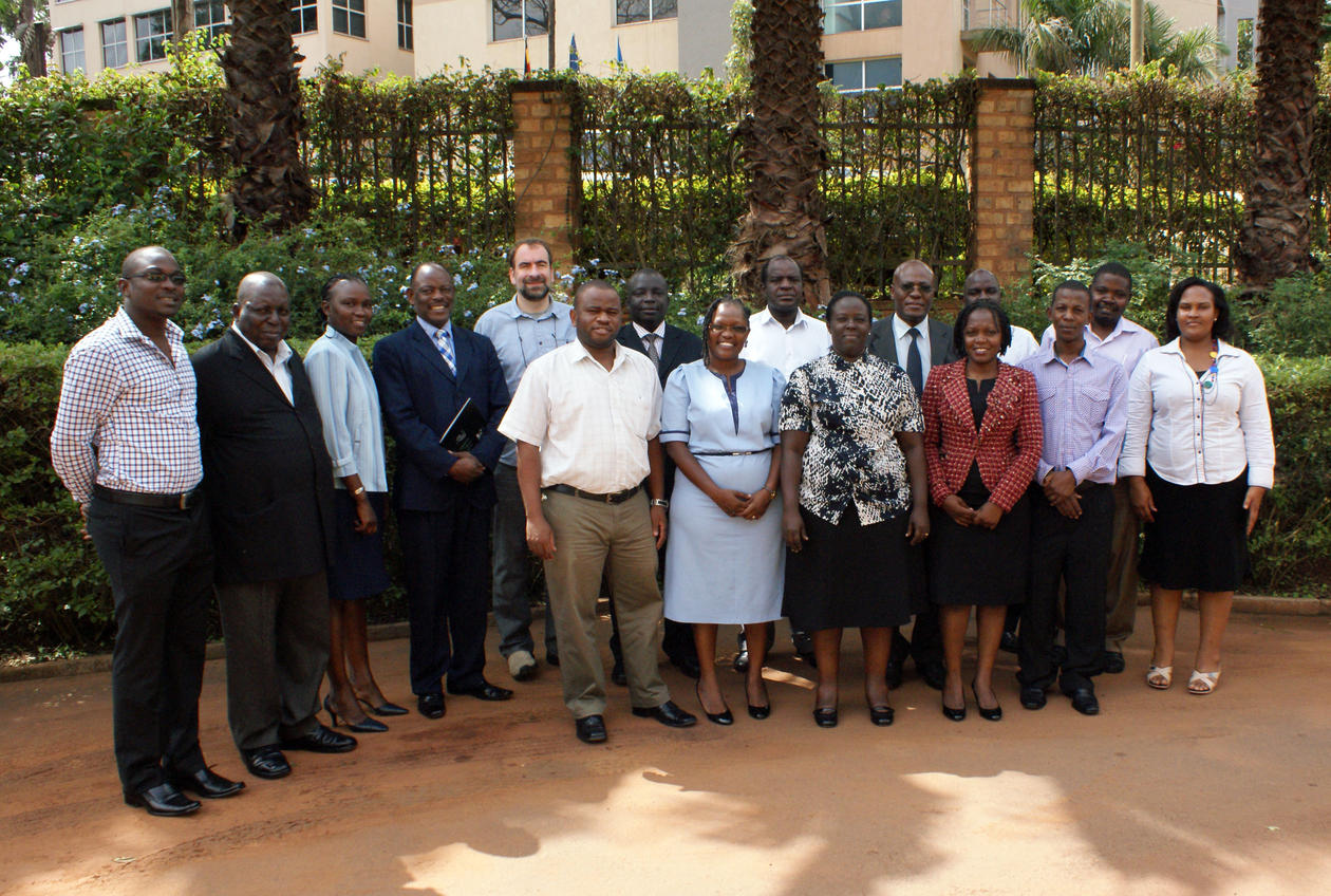 The WIMEA-ICT project's kick-off at Makerere University, Uganda, in November 2013.