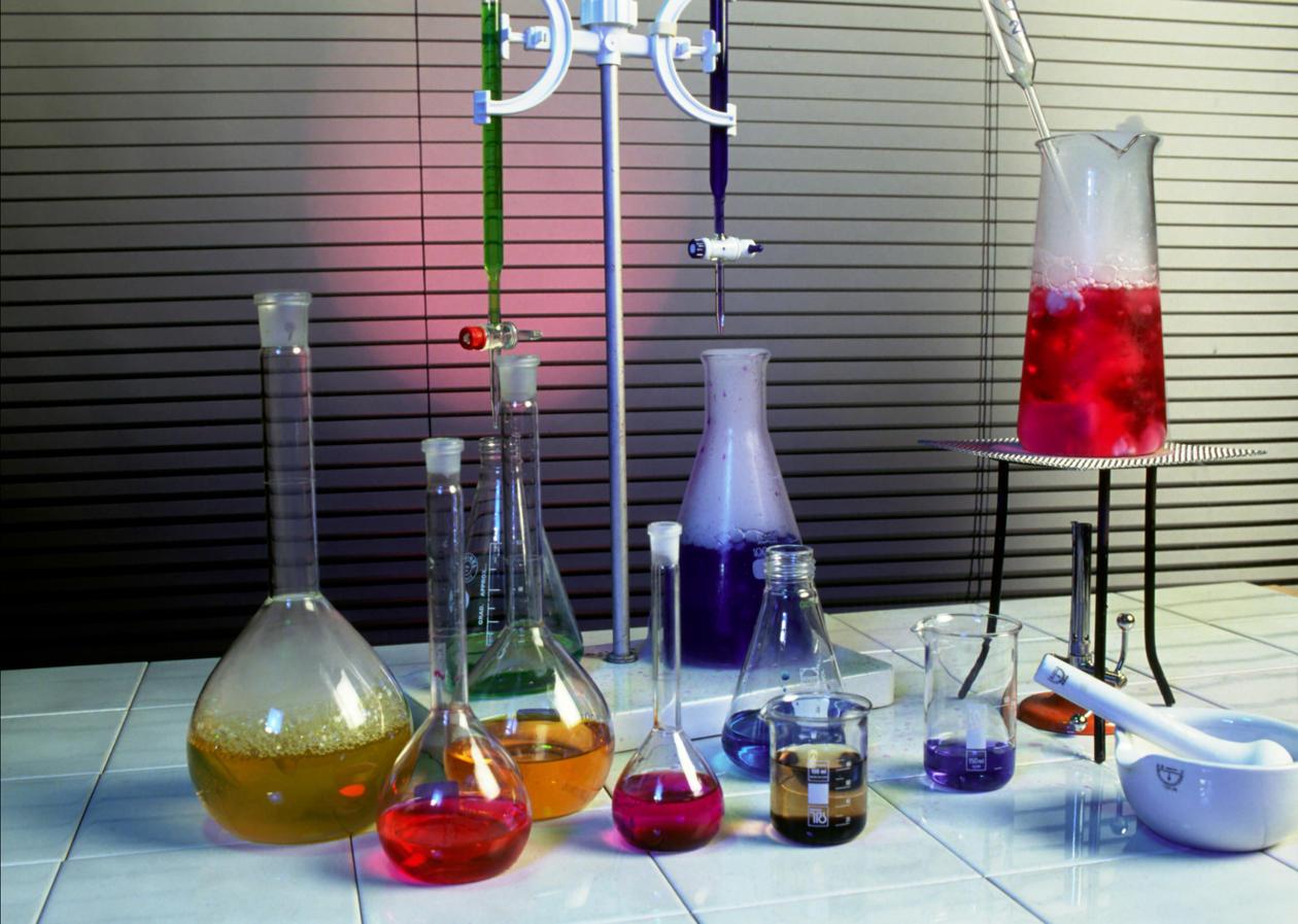 kolber, glass, rør, forskning, laboratorie