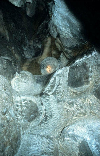 Fra det underjordiske grytebruddet ved Raudesteinane