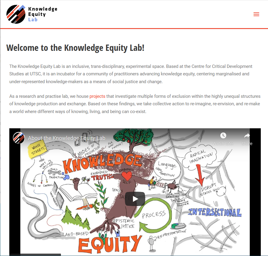 Knowledge Equity Lab