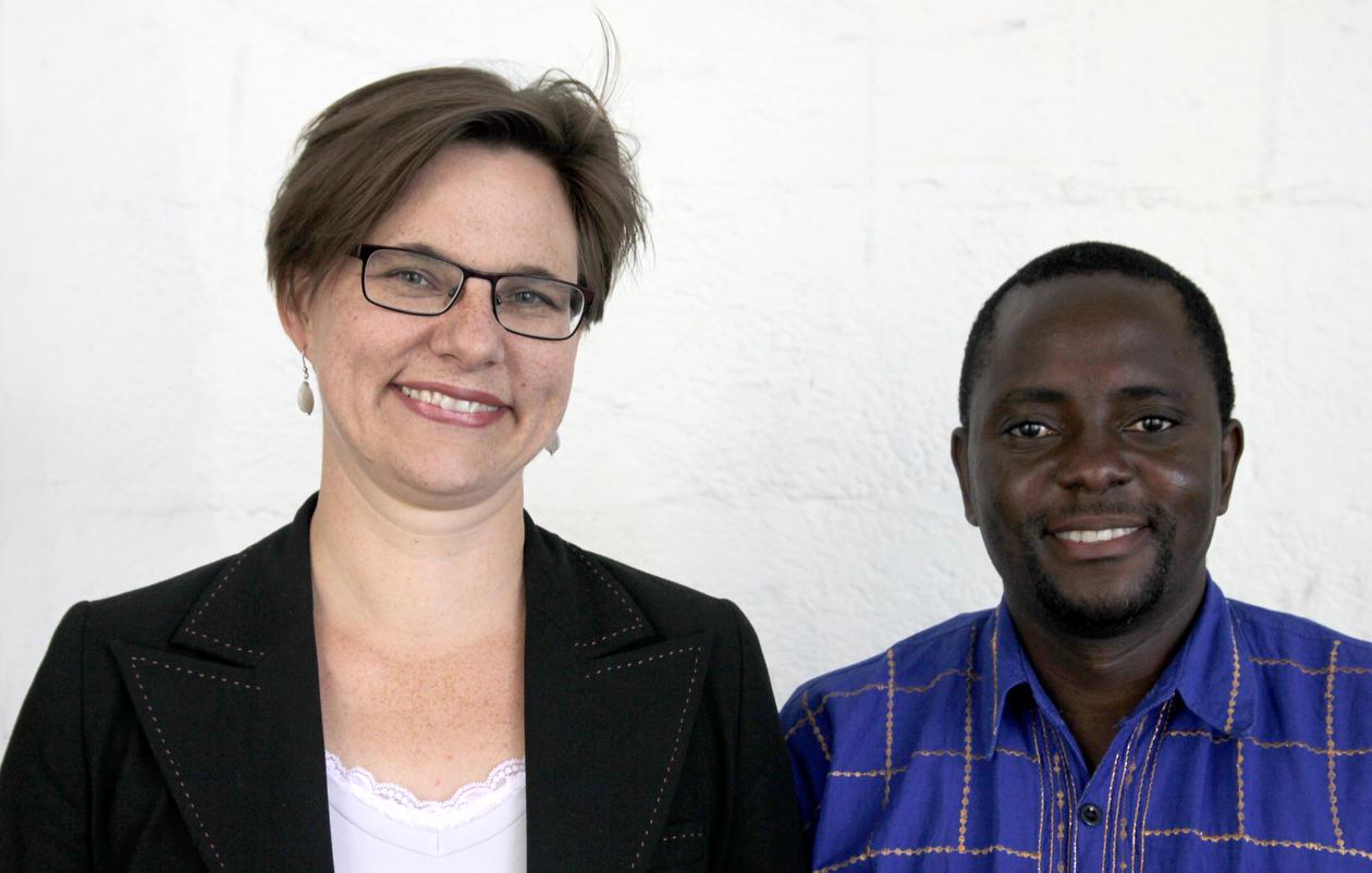 Brigit Kopainsky and Progress Nyanga
