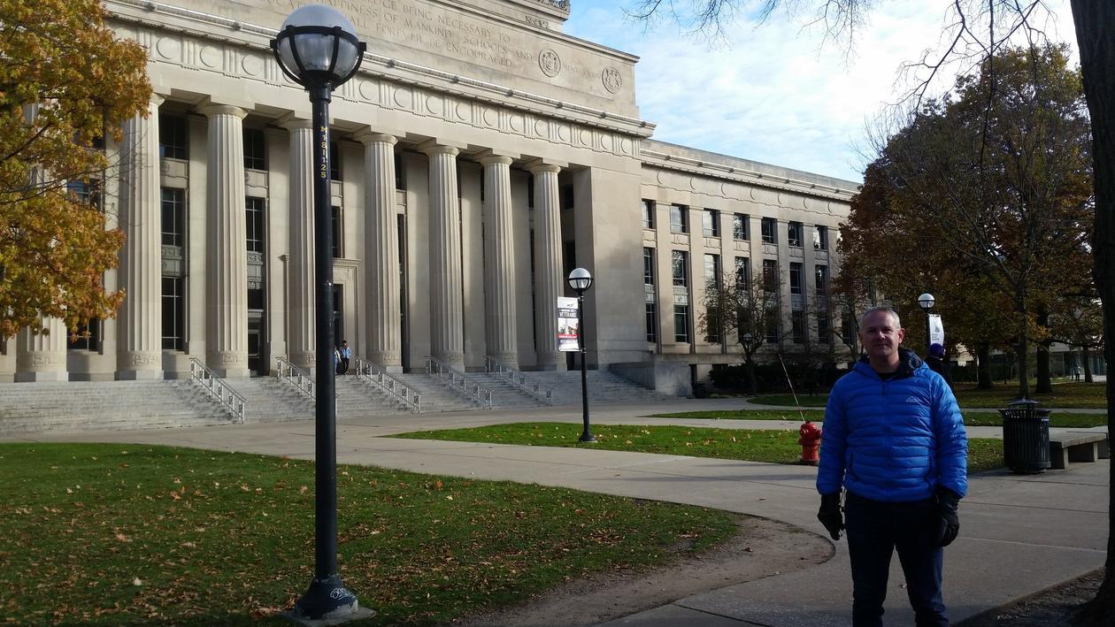 Geofag utveksling - Ann Arbor er hjembyen til anerkjente University of Michigan