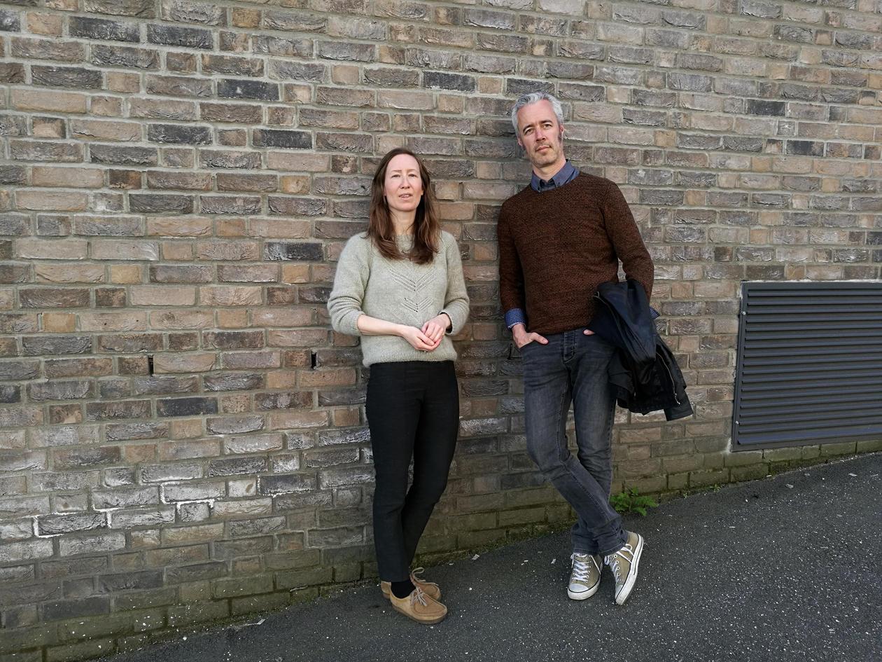 Kristin Kjærås and Tarje Wanvik