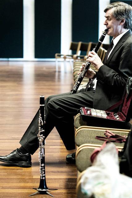 John Kruse med klarinett