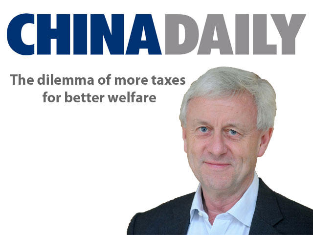 Kuhnle in China Daily