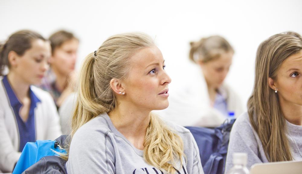 Studenter i seminarundervisning