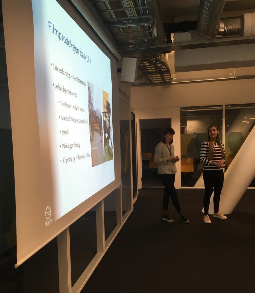 Presentasjon av UiB læringslab
