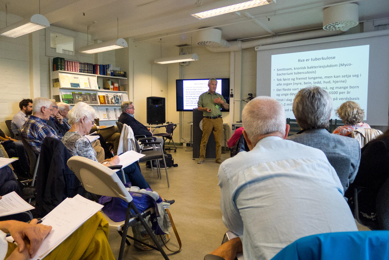 Ole Didrik Lærum foreleser