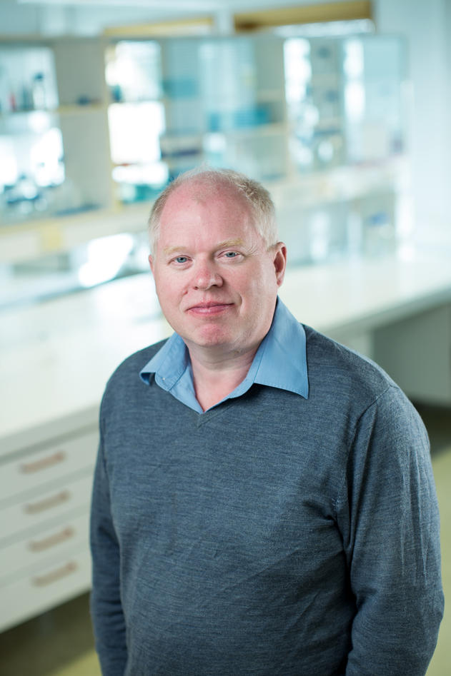 Professor Frank Nilsen at UiB's Department of Biology.