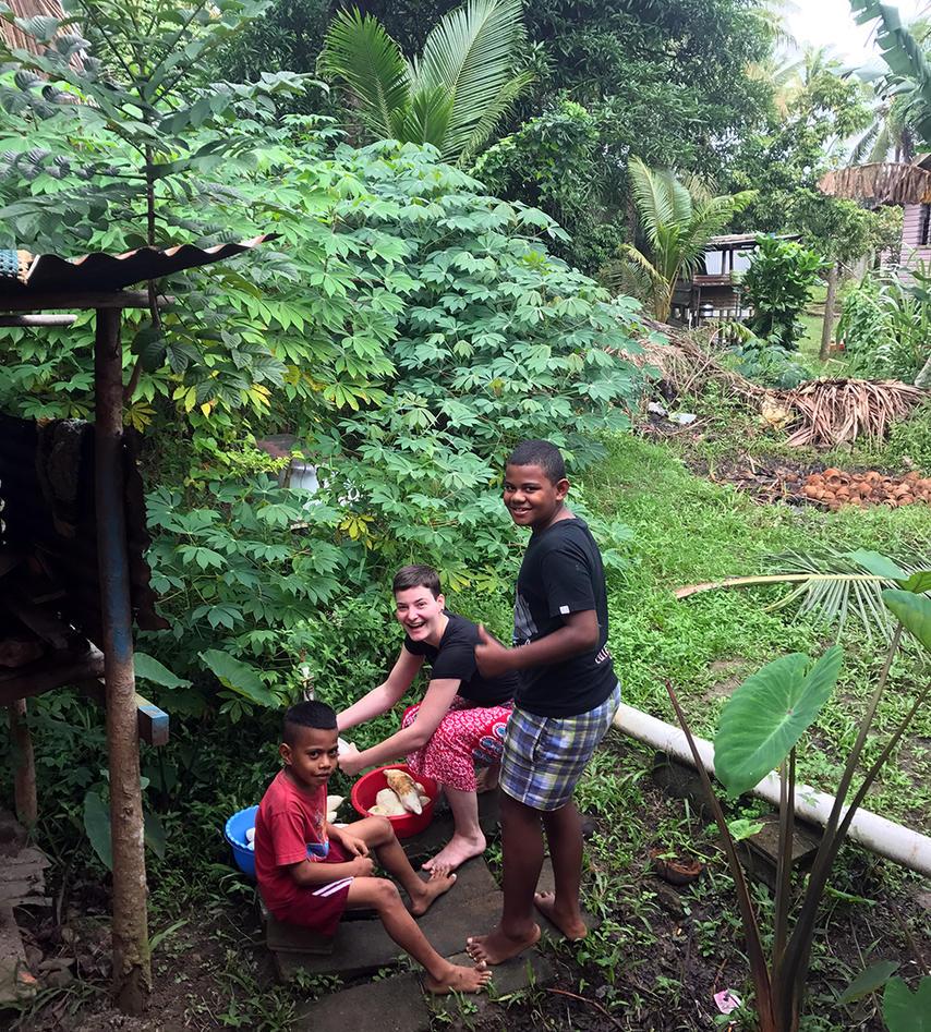 Landsbybesøk for UiB-studenter på Fiji