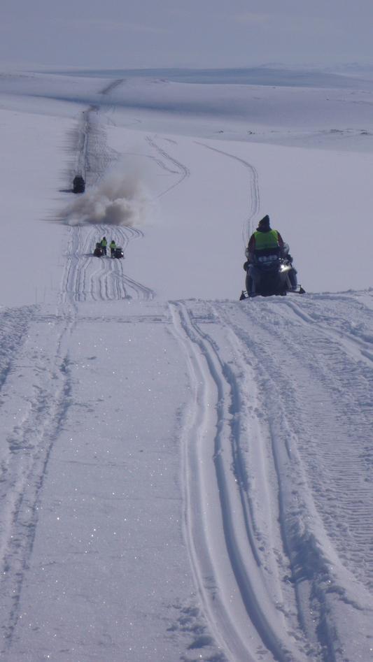 Land seismic in Finnmark using snowstreamer and detonating cord