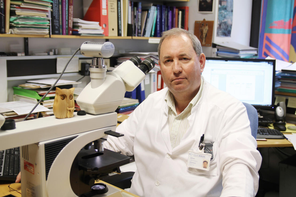 Professor Lars A. Akslen, Centre for Cancer Biomarkers (CCBIO), University of Bergen (UiB).