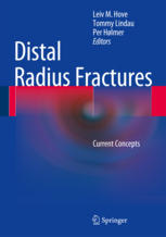 "Front cover of the book ""Distal Radius Fractures"""