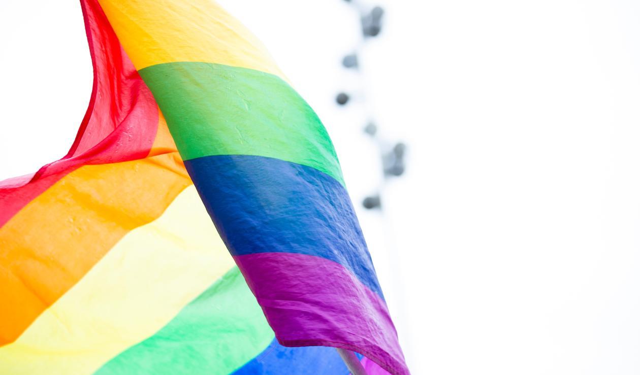 Bilde av regnbueflagg