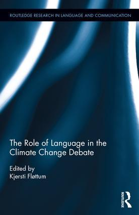 The Role of Language in the Climate Change Debate