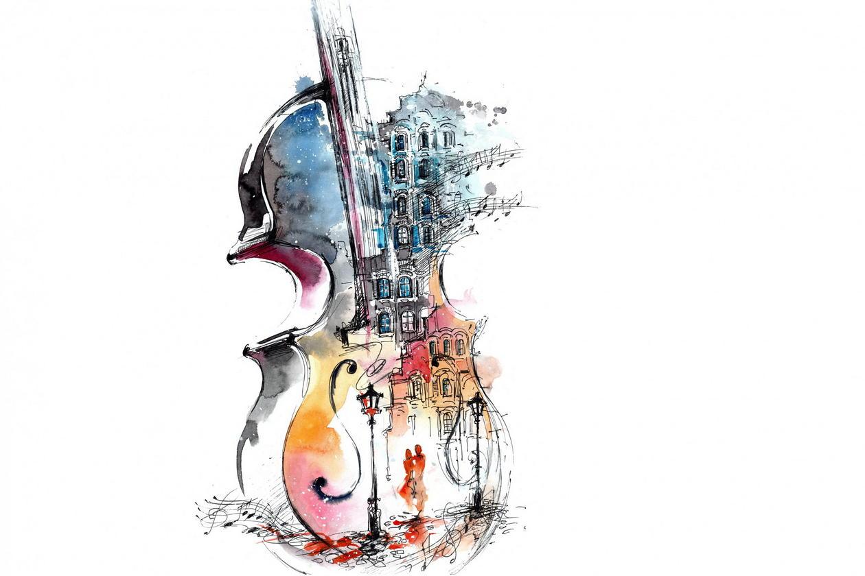 En fiolin full av drømmer