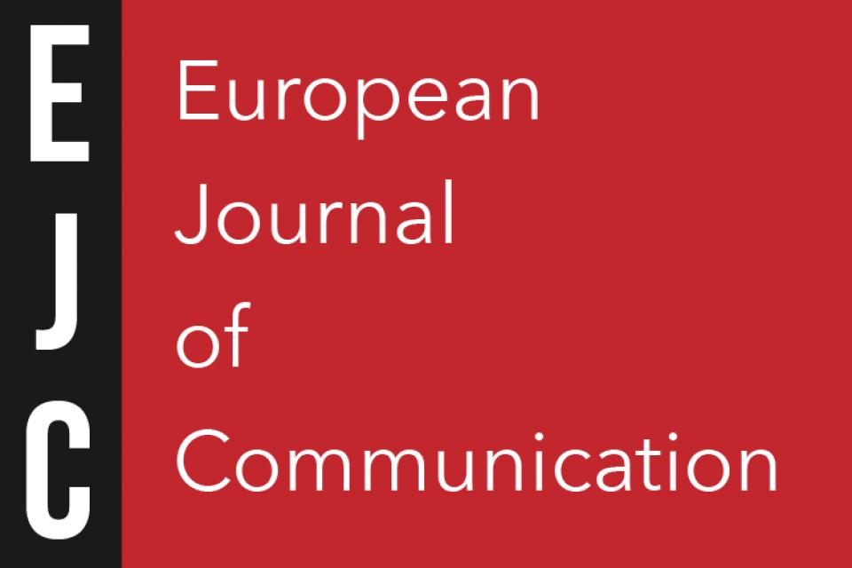 Hallvard Moe er medredaktør for et spesialnummer av European Journal of Communication.